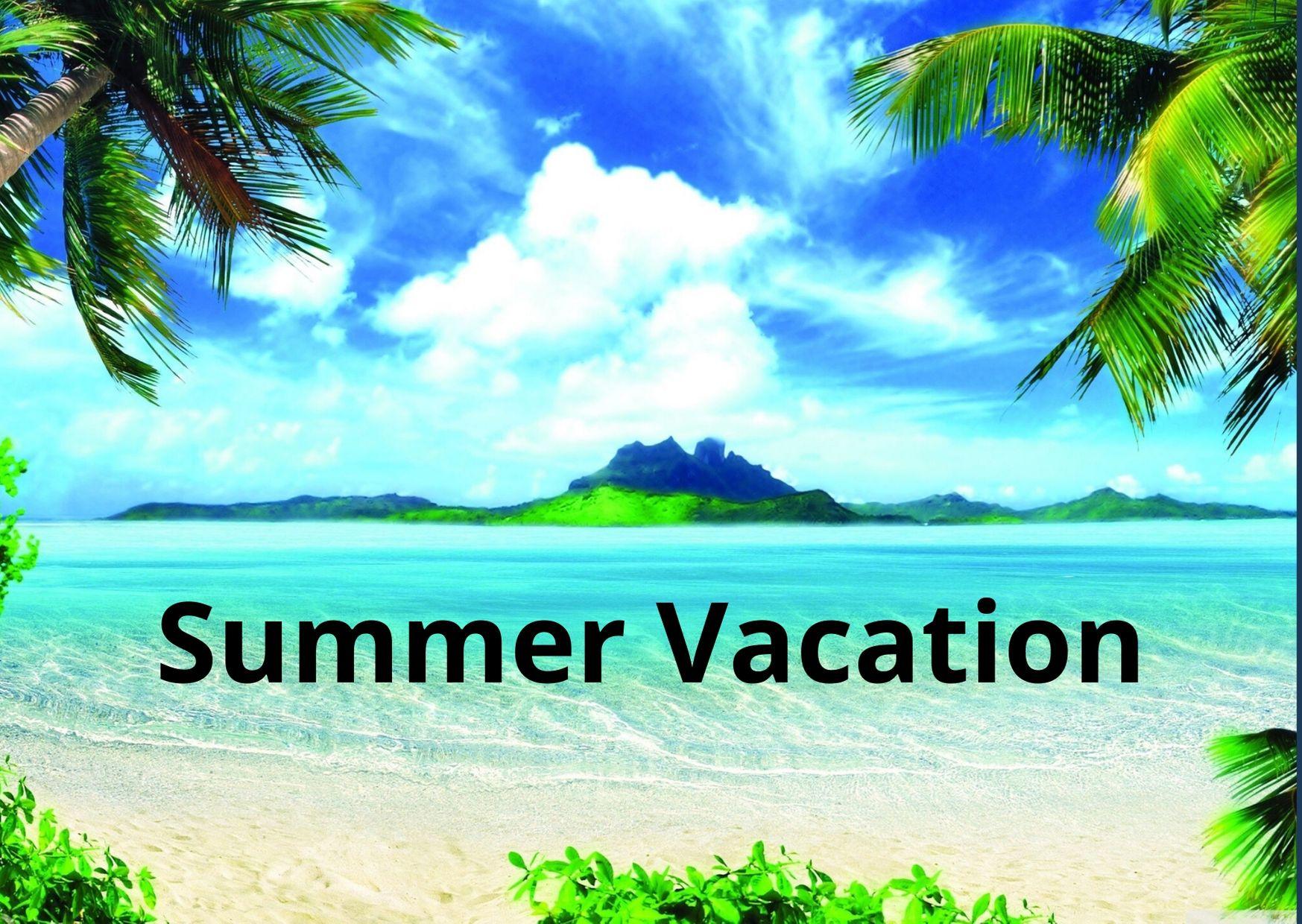 Summer vacation essay for kids